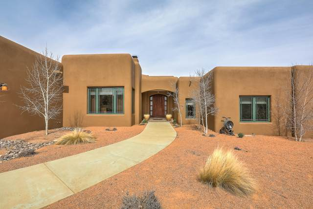 35 Stagecoach Trail, Sandia Park, NM 87047 (MLS #986256) :: Keller Williams Realty