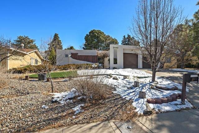 2440 Paisano Street NE, Albuquerque, NM 87112 (MLS #986278) :: Berkshire Hathaway HomeServices Santa Fe Real Estate