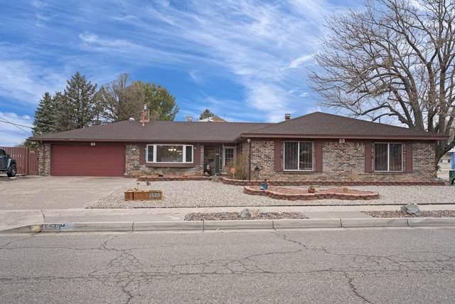 1525 Marron Circle NE, Albuquerque, NM 87112 (MLS #986291) :: Berkshire Hathaway HomeServices Santa Fe Real Estate