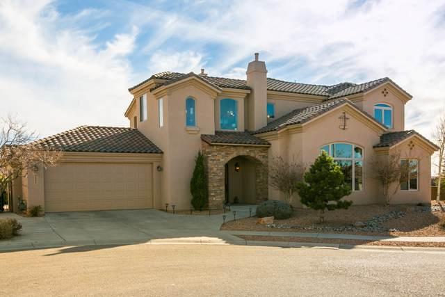 9200 La Tierra Court NE, Albuquerque, NM 87122 (MLS #986501) :: Keller Williams Realty