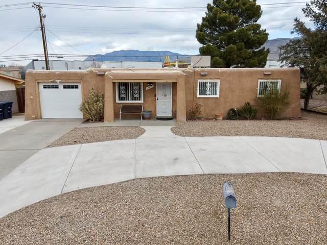 11813 San Jacinto Avenue NE, Albuquerque, NM 87123 (MLS #986542) :: The Buchman Group