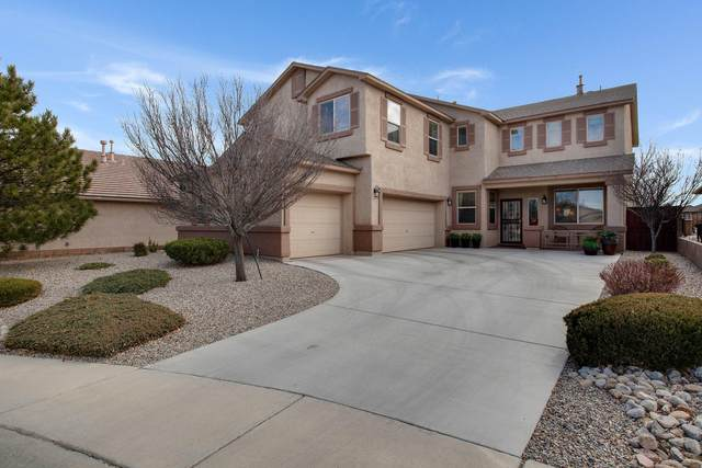 8148 Corn Mountain Place NW, Albuquerque, NM 87114 (MLS #986699) :: Keller Williams Realty