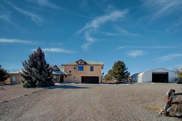 49 Moonlight Meadow, Edgewood, NM 87015 (MLS #986703) :: Sandi Pressley Team