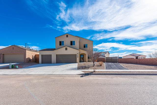 4804 Tiny Sparrow Road NE, Rio Rancho, NM 87144 (MLS #986786) :: Keller Williams Realty