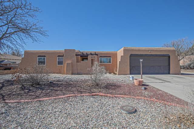 905 Peach Tree Road SE, Rio Rancho, NM 87124 (MLS #986789) :: Berkshire Hathaway HomeServices Santa Fe Real Estate