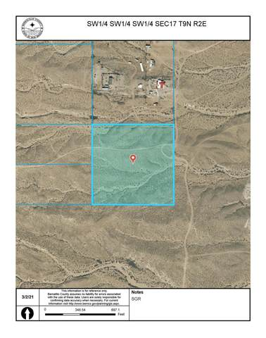 Off Pajarito (T.K 2) Road SW, Albuquerque, NM 87121 (MLS #987198) :: Campbell & Campbell Real Estate Services