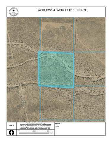 Off Pajarito (T.K 3) Road SW, Albuquerque, NM 87121 (MLS #987200) :: Campbell & Campbell Real Estate Services