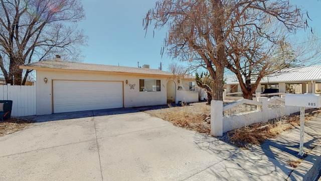805 Kingman Avenue, Grants, NM 87020 (MLS #988364) :: Keller Williams Realty