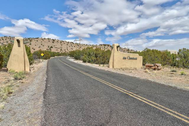 LOT 35A Overlook Drive, Placitas, NM 87043 (MLS #988425) :: The Buchman Group