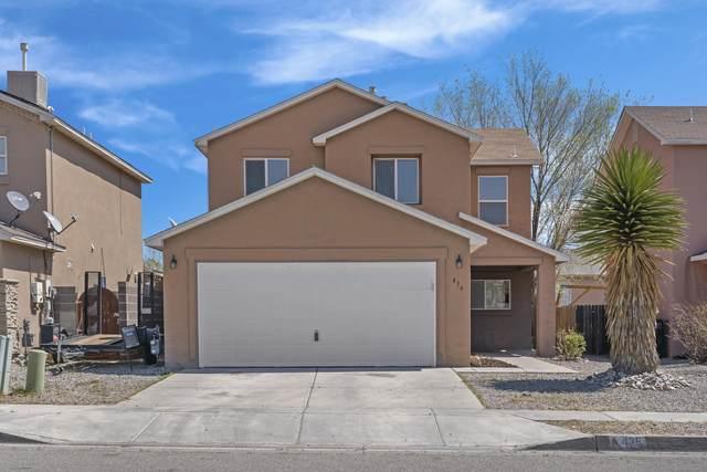 436 Desert Bluff Drive SW, Albuquerque, NM 87121 (MLS #988599) :: The Buchman Group