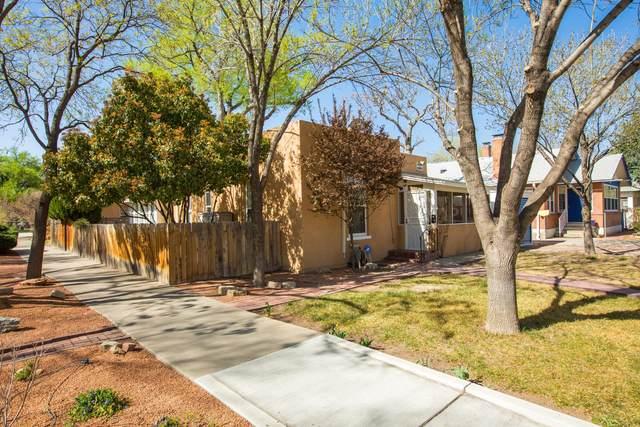 423 13TH Street NW, Albuquerque, NM 87102 (MLS #989213) :: Keller Williams Realty