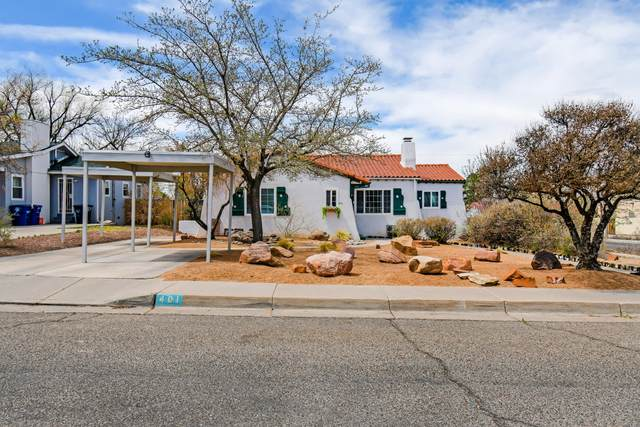401 Bryn Mawr Drive SE, Albuquerque, NM 87106 (MLS #989220) :: The Buchman Group