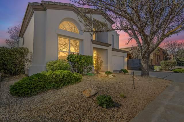 5717 Bartonwood Place NE, Albuquerque, NM 87111 (MLS #989248) :: The Buchman Group