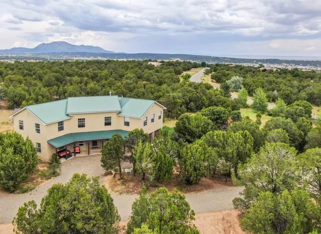 22 Sandia Mountain Ranch Drive, Tijeras, NM 87059 (MLS #989265) :: The Buchman Group