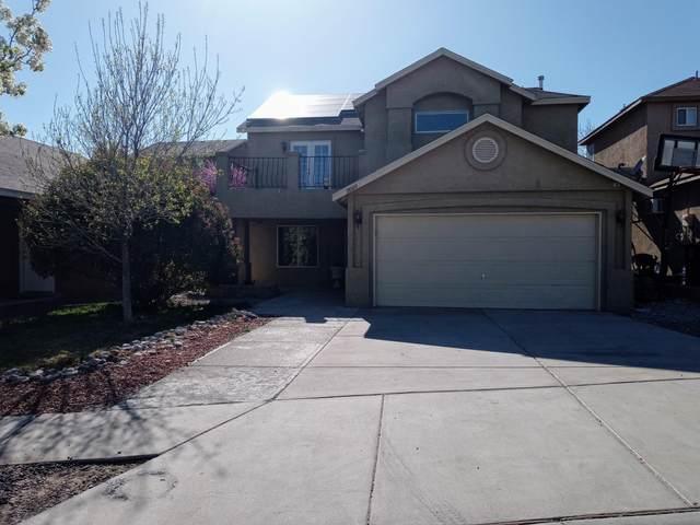 11009 Desert Dreamer Street NW, Albuquerque, NM 87114 (MLS #989285) :: Keller Williams Realty