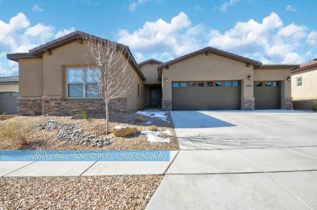 2806 La Luz Circle NE, Rio Rancho, NM 87144 (MLS #989312) :: Keller Williams Realty