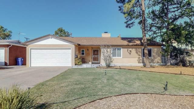 1417 Dartmouth Drive NE, Albuquerque, NM 87106 (MLS #989379) :: The Buchman Group