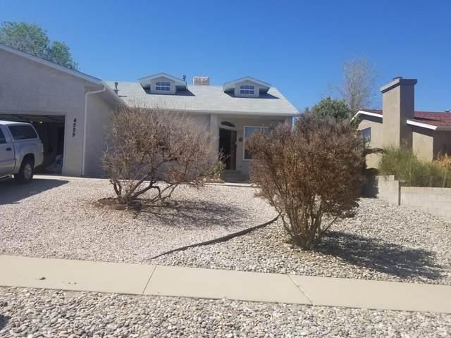 4529 Greene Avenue NW, Albuquerque, NM 87114 (MLS #989479) :: Berkshire Hathaway HomeServices Santa Fe Real Estate