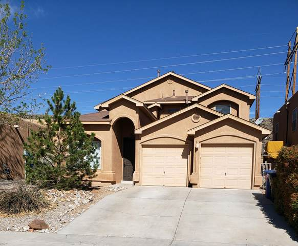 4309 Cliff Base Drive NW, Albuquerque, NM 87120 (MLS #989651) :: Keller Williams Realty