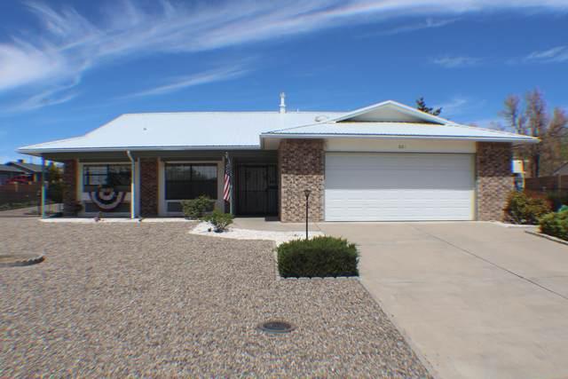 601 Emerald Drive NE, Rio Rancho, NM 87124 (MLS #989920) :: Keller Williams Realty