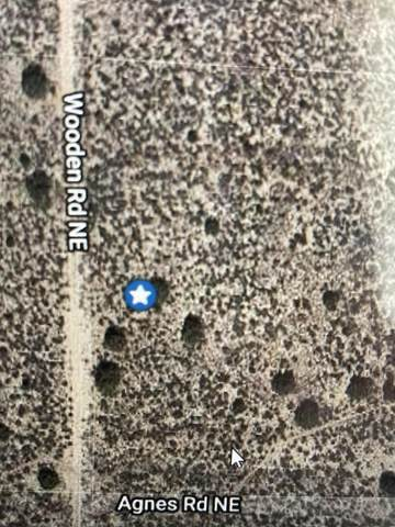 Wooden Road NE, Rio Rancho, NM 87144 (MLS #990174) :: The Buchman Group