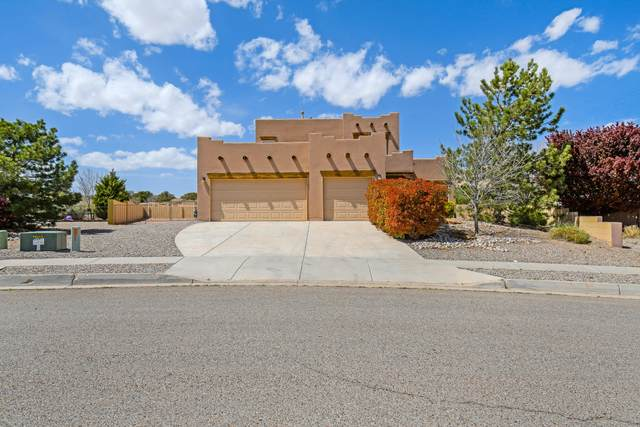 5461 Roosevelt Loop NE, Rio Rancho, NM 87144 (MLS #990249) :: The Buchman Group