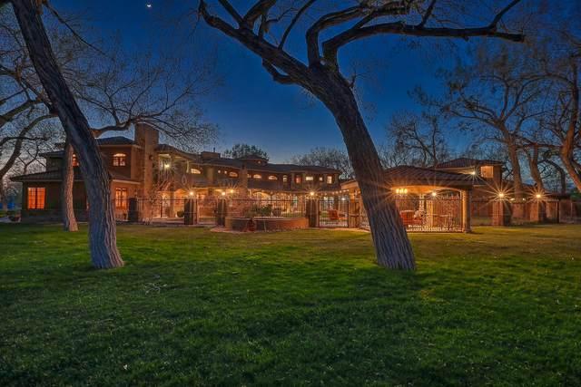 900 Camino Vista Rio, Bernalillo, NM 87004 (MLS #990489) :: Campbell & Campbell Real Estate Services