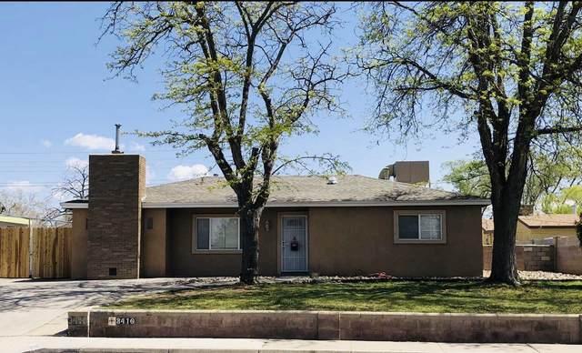 3410 Morningside Drive NE, Albuquerque, NM 87110 (MLS #990672) :: Keller Williams Realty