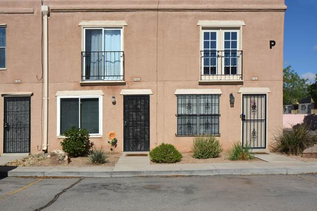 3301 Monroe Street NE P162, Albuquerque, NM 87110 (MLS #991302) :: Keller Williams Realty