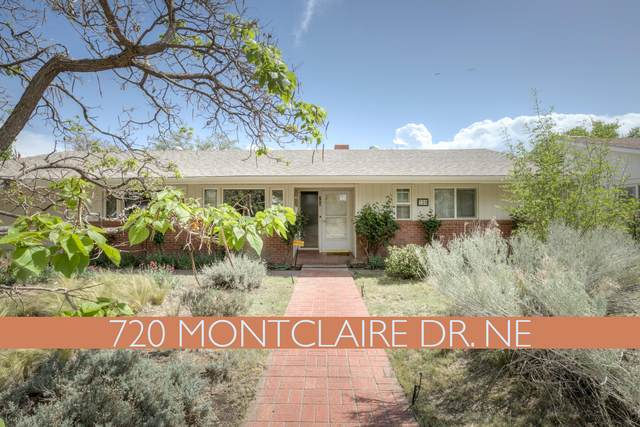 720 Montclaire Drive NE, Albuquerque, NM 87110 (MLS #991354) :: Keller Williams Realty