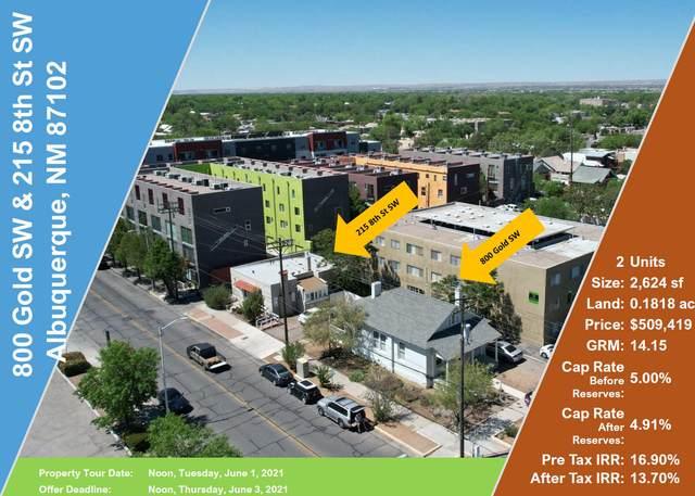 800 Gold & 215 8th Avenue SW, Albuquerque, NM 87102 (MLS #991890) :: The Buchman Group