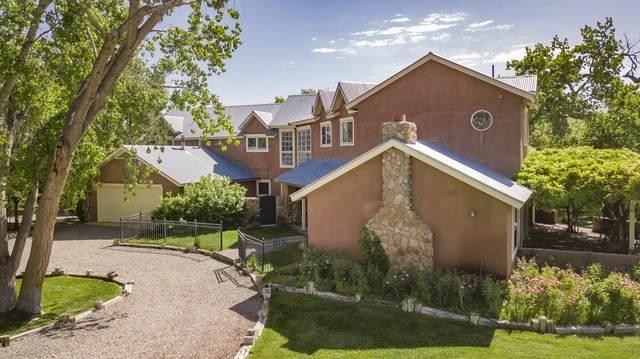100 Camino De La Paloma, Corrales, NM 87048 (MLS #992101) :: Berkshire Hathaway HomeServices Santa Fe Real Estate