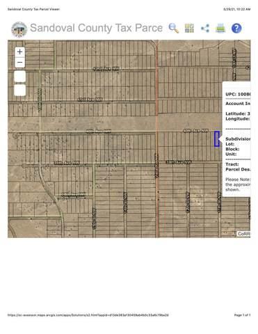 0 Unit 22, Block 15, Lot 14, Rio Rancho, NM 87144 (MLS #993176) :: Campbell & Campbell Real Estate Services