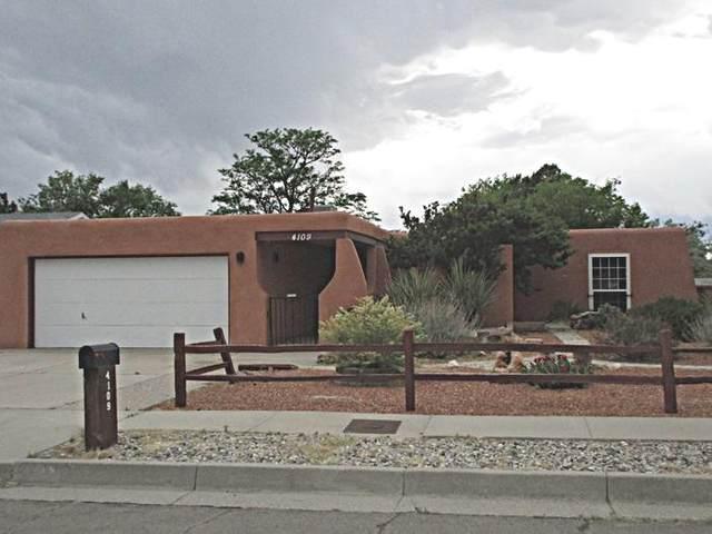 4109 Lara Drive NE, Albuquerque, NM 87111 (MLS #993896) :: Berkshire Hathaway HomeServices Santa Fe Real Estate