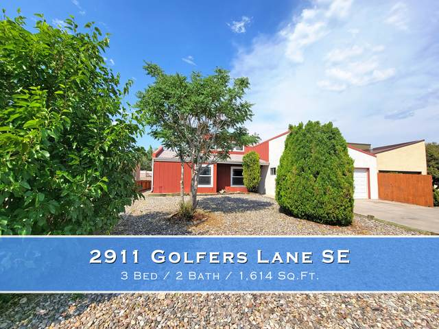 2911 Golfers Lane SE, Rio Rancho, NM 87124 (MLS #994372) :: Campbell & Campbell Real Estate Services