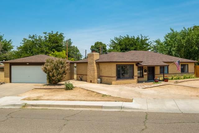 7811 Morrow Avenue NE, Albuquerque, NM 87110 (MLS #994409) :: The Buchman Group
