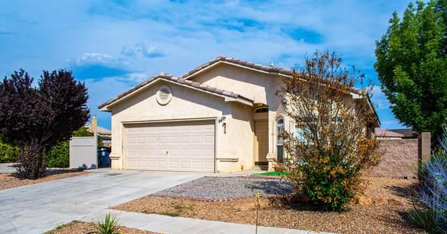 9216 Ashfall Place NW, Albuquerque, NM 87120 (MLS #994600) :: Sandi Pressley Team