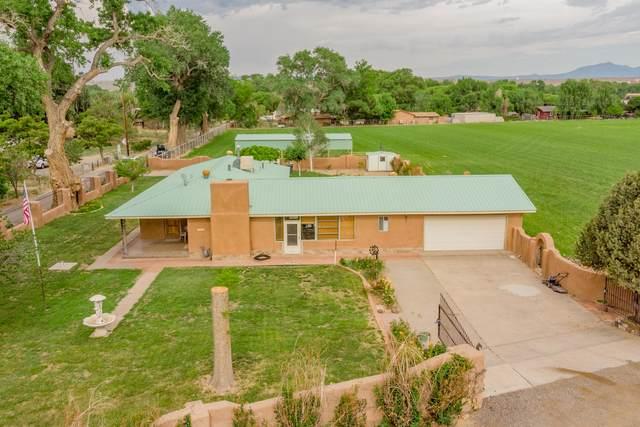 1716 N Marcelino Road SW, Albuquerque, NM 87105 (MLS #994642) :: Sandi Pressley Team