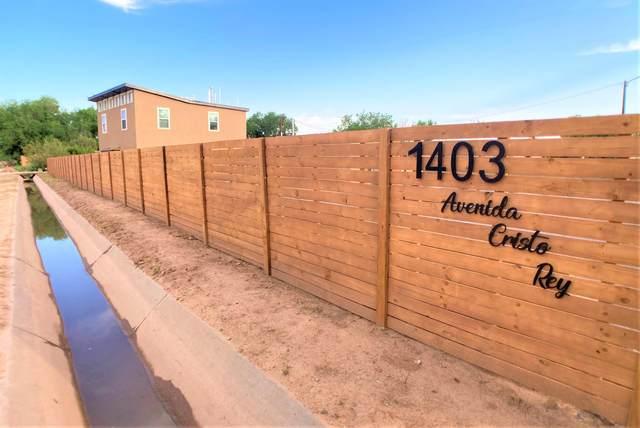 1403 Avenida Cristo Rey NW, Albuquerque, NM 87107 (MLS #994825) :: Keller Williams Realty