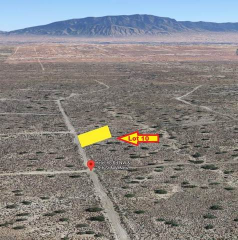 Helecho Road NW, Rio Rancho, NM 87124 (MLS #994840) :: Keller Williams Realty