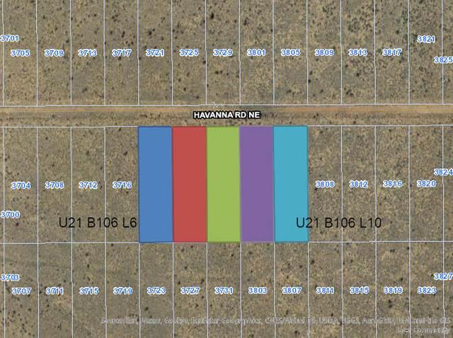 3720 Havanna (U21b106l6,7,8,9Or10) Road NE, Rio Rancho, NM 87144 (MLS #994907) :: Berkshire Hathaway HomeServices Santa Fe Real Estate