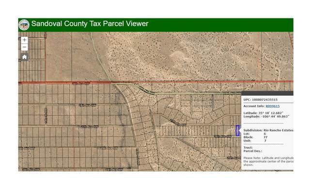 Rio Rancho Estates Blk77 Lt 6 NE, Rio Rancho, NM 87144 (MLS #995024) :: Campbell & Campbell Real Estate Services