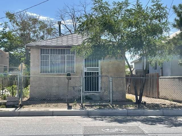 1506 William Street SE, Albuquerque, NM 87102 (MLS #995270) :: The Buchman Group
