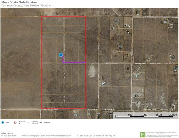 Mesa Road, Moriarty, NM 87035 (MLS #995359) :: Keller Williams Realty