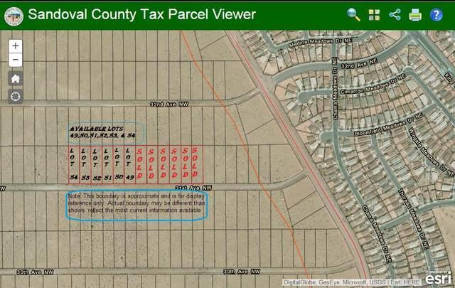 0 31st  Lot 49 Avenue NW, Rio Rancho, NM 87144 (MLS #995382) :: The Buchman Group