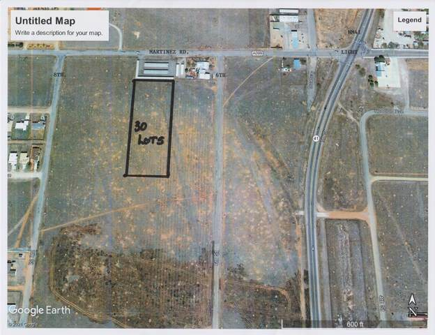Martinez Rd. Project, Moriarty, NM 87035 (MLS #995899) :: The Buchman Group