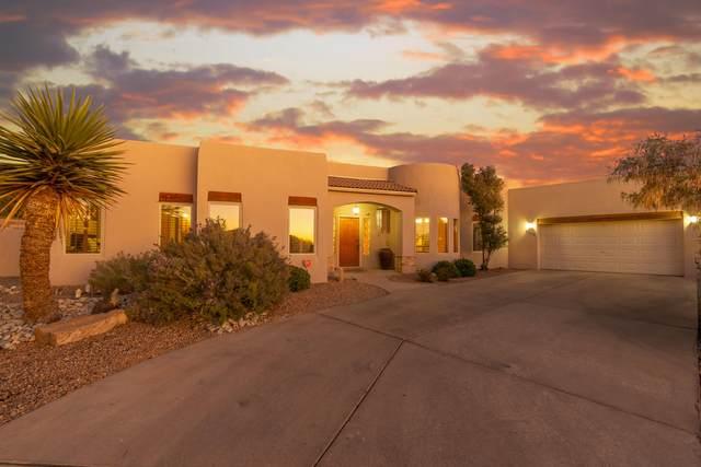 9100 Via Asombro NE, Albuquerque, NM 87122 (MLS #996177) :: Sandi Pressley Team