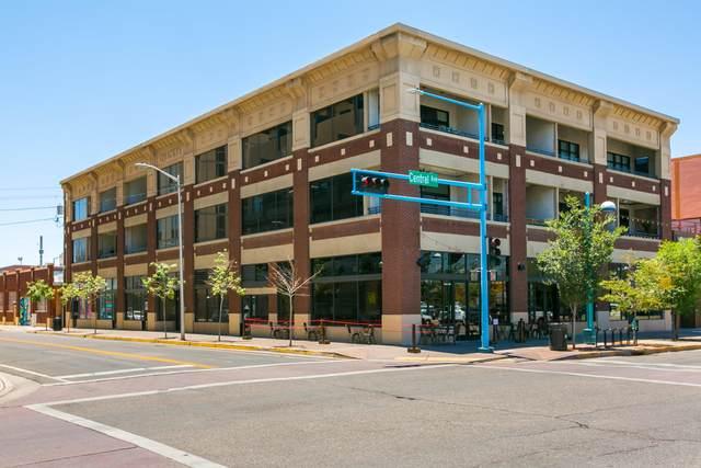 600 Central Avenue SW 2E, Albuquerque, NM 87102 (MLS #996253) :: Keller Williams Realty