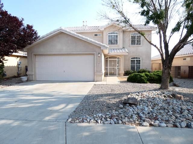 5547 Rabadi Castle Avenue NW, Albuquerque, NM 87114 (MLS #996342) :: The Buchman Group