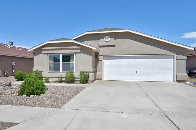10424 Pamplona Street NW, Albuquerque, NM 87114 (MLS #996380) :: Sandi Pressley Team